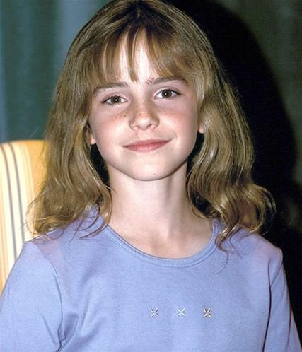 Эмма Уотсон в детстве. Фото