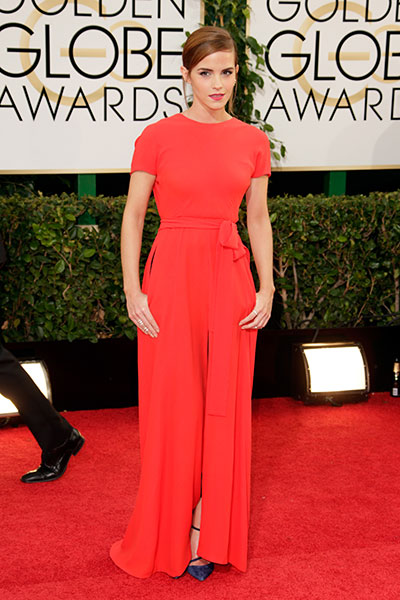 Эмма Уотсон на вручении Оскара 2014