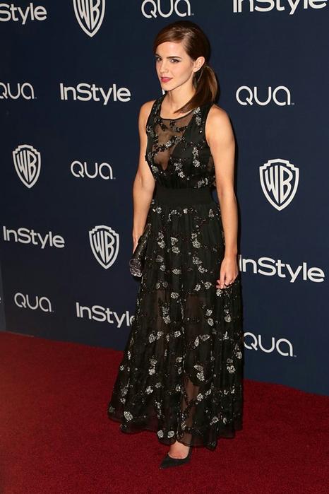 Эмма Уотсон на вечеринке по случаю вручения Оскара 2014